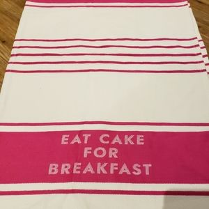 Kate spade set of two tea towels NWOT